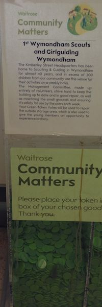 Waitrose Green Chips