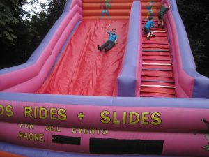 Summer End of Term Inflatables Party